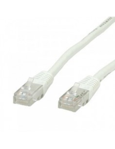 Latiguillo 0.5m RJ45 CAT6 UTP Blanco ROLINE