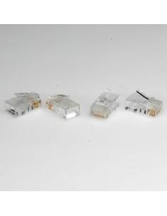 Conector Macho RJ45 CAT6 UTP (caja 10 unidades)