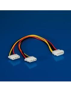 "Cable alimentación 5 1/4"" M - 5 1/4"" H X2"