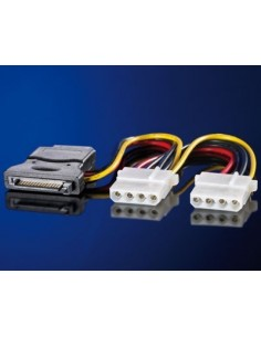 """Cable alimentación interna  SATA / 3 X 5,25"""""""