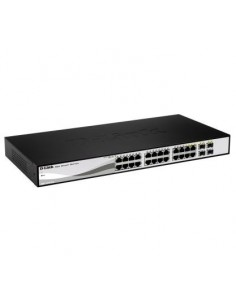 D-LINK DGS-1210-24 Switch 24 ptos Gigabit+4 combo