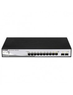 D-LINK DGS-1210-10P Switch 10 ptos.Gigabit Poe+2SF