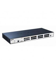 D-LINK DGS-3120-24SC/SI Swich 16 ptos SFP+8 combo