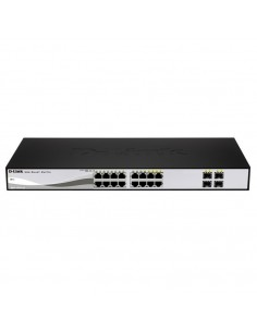 D-LINK DGS-1210-16 Switch 16 ptos Giga + 4 combo