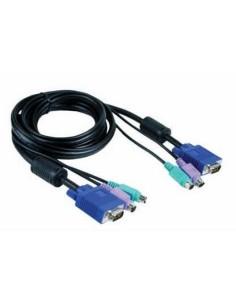 D-LINK DKVM-CB Juego de cables 1.8 Metros