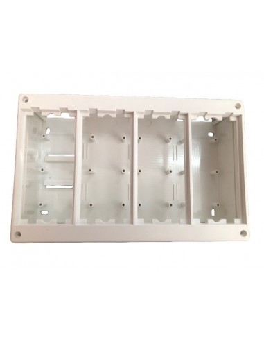Caja superficie 4 elementos 225X140X60mm