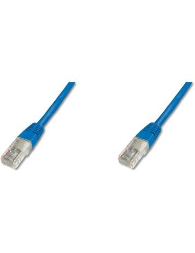 DIGITUS Latiguillo 0.5m UTP C5E Azul...