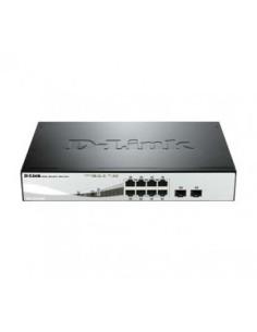 D-LINK DGS-1210-08P 8 ptos gigabit POE +2 combo