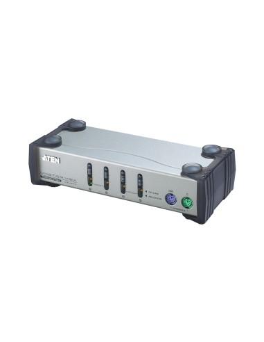 ATEN CS84A Conmutador KVM 4 PCs PS/2...