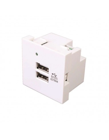 MODULO DE 45X45 2 CARGADORES USB-A...