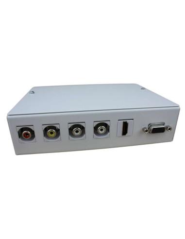 CAJA MULT. METAL CON H-H VGA, HDMI Y...