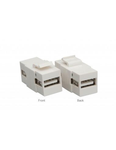 ADAPTADOR  USB-A A USB-A 2.0 H-H TIPO...