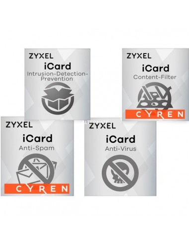 ZYXEL LIC-BUN,E-iCard 1 Year BUNDLE-5...