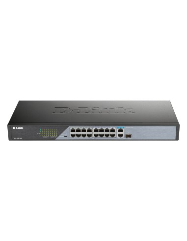 DLINK DSS-100E-18P Switch 16 ptos PoE...