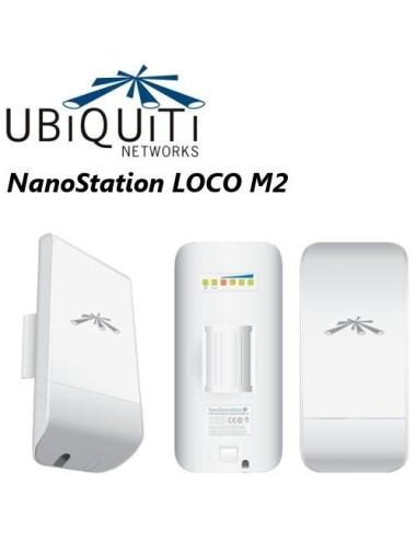 UBIQUITI LOCOM2 AirMax 2,4GHz CPE 8...
