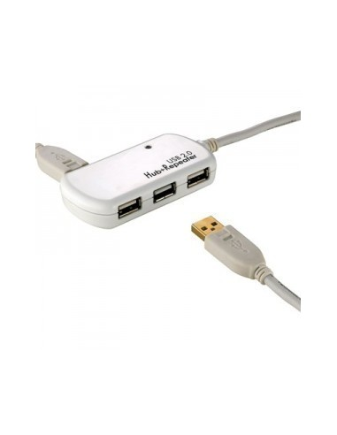Cable USB 2.0 12 M  prolongador + HUB...