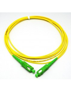 CNC LATIGUILLO MONOFIBRA 30m 10/125 SC/APC-SC/APC