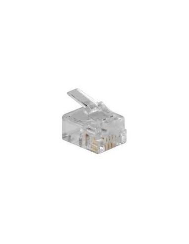 Conector RJ11 6/4 para conectar a...