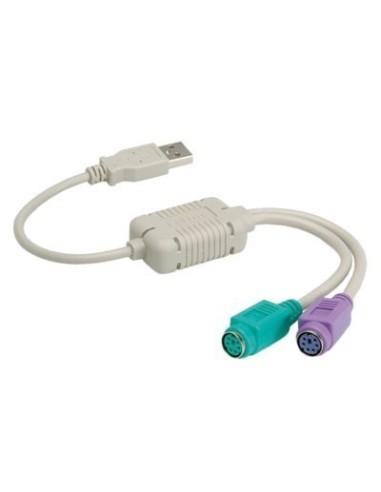 Convertidor USB A PS2 Teclado y Ratón...