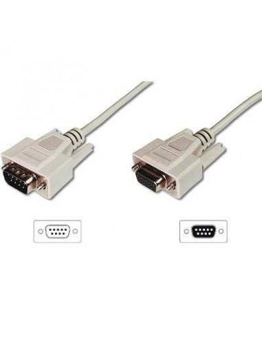 Cable Serie 1,8M. RS232 DB9...