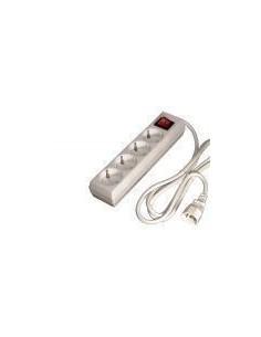 Regleta 4 enchufes para SAIS conector IEC Macho