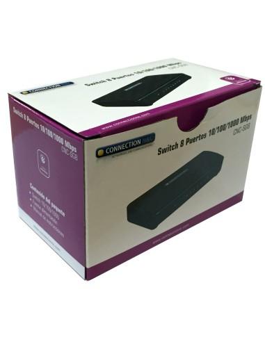 CNC-SG8 Switch 8 puertos 10/100/1000...