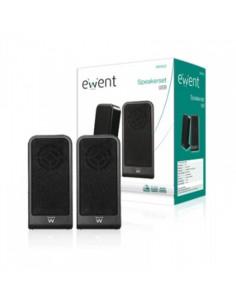 EWENT EW3502 Altavoces 2.0 Negro