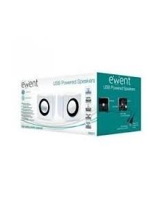 EWENT EW3511 Altavoces 2.0 Blanco