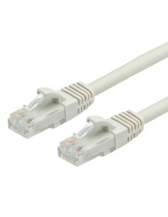 Latiguillo 10 m RJ45 CAT-6 LSOH Gris RHOS VALUE