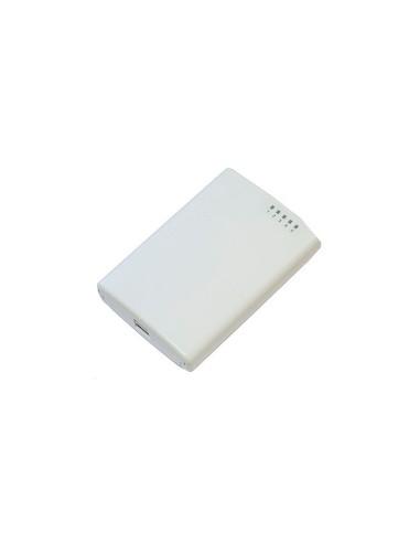 MIKROTIK  RB/R750P-PBr2 Mikrotik PowerBox Router Ethernet de exterior con 5 puertos con salida PoE (en 4 de ellos)