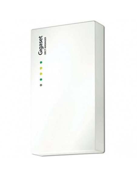 GIGASET N720IP DM Controlador del sistema multicelda N720, máx. 100 usuarios, máx. 30 llamadas simultáneas, sonido HD, PoE