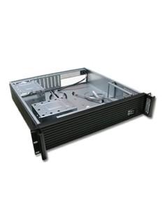 """Caja CPU 2U 19"""" negra SIN FUENTE"""