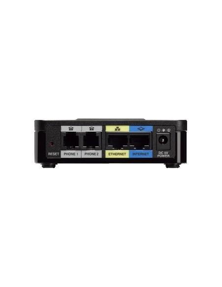 CISCO SMB SPA122 Adaptador de teléfono analógico (ATA) con router
