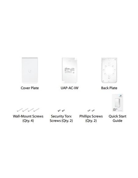 UBIQUITI UAP-AC-IW UniFi AP, AC, In Wall