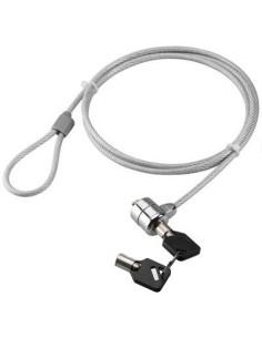Cable seguridad con llave para portatiles