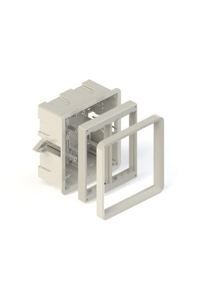Cubeta de empotrar 60mm para caja de 2 elementos