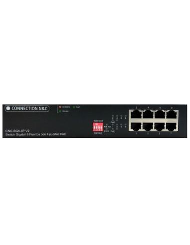 CNC-SG8-4P V2 Switch 8 ptos...