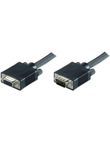 Cable SVGA 5 M. Macho-hembra moldeado