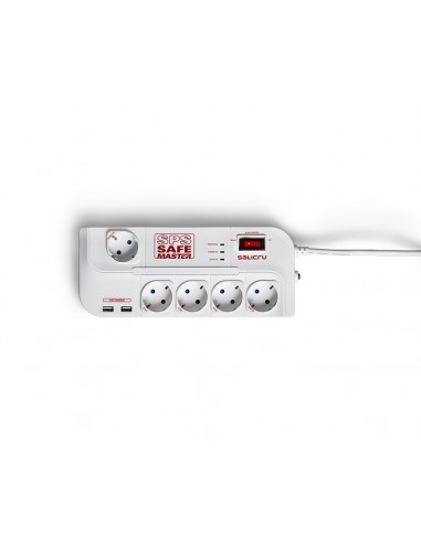SALICRU SPS SAFE MASTER  Regleta 5 +1Master +2 USB