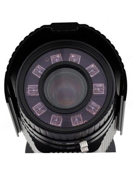 KPC-LP751PU Cámara Color reconocimiento matrículas varifocal  5-5