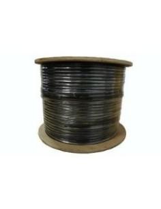 Bobina cable UTP Exterior CAT6 305m EXCEL Negro