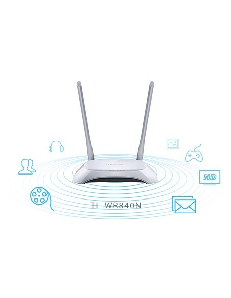 TP-LINK TL-WR840N Router inalámbrico N a 300Mbps