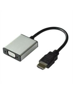 Adaptador HDMI M a VGA H 15 cms con audio