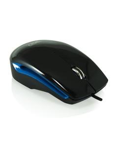 3GO Ratón ADVANZ Negro/Azul USB