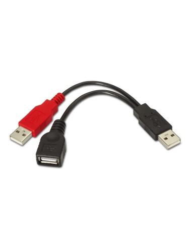 AISENS CABLE USB 2.0 + ALIM A/M-A/H...