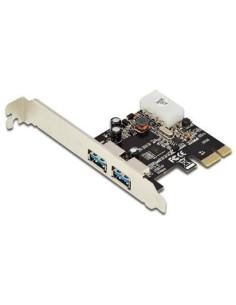 Tarjeta PCI Express de 2 ptos.USB 3.0 Doble perfil
