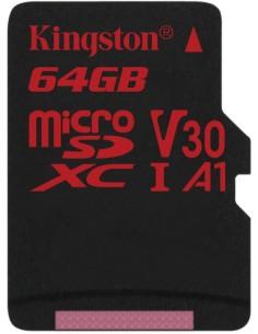 KINGSTON  MICROSD 64G CL10...